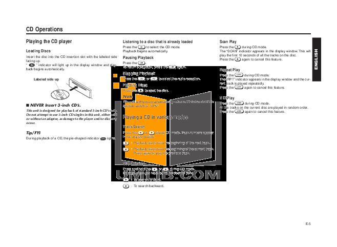 Blaupunkt Other RPD545 Car-audio pdf page preview