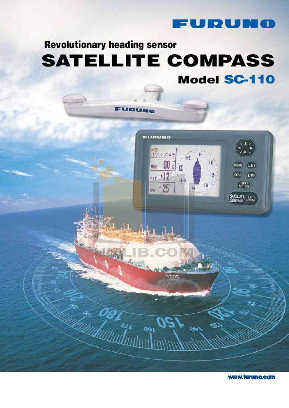pdf for Furuno GPS SC-120 manual