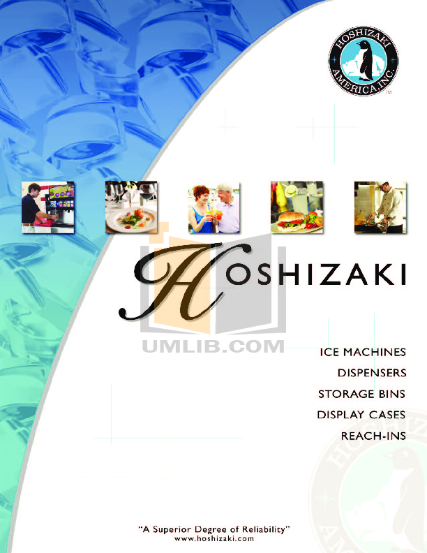 pdf for Hoshizaki Other F-2000MWH Modular Flakers manual