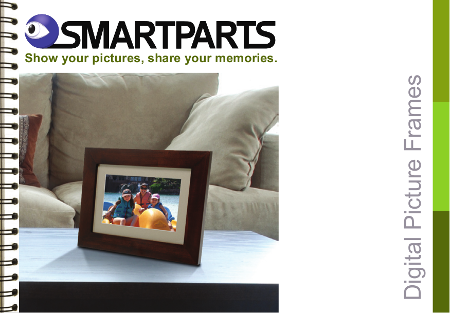 Download free pdf for Smartparts SP11P Digital Photo Frame manual
