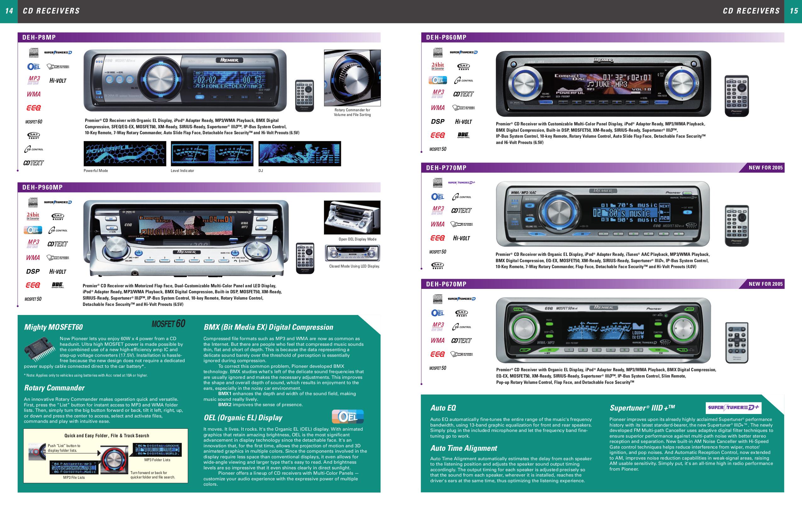 Pioneer Premier Deh P470mp Manual - Good Owner Guide Website •