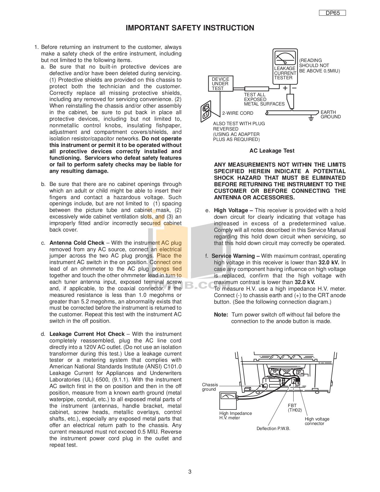 Download free pdf for hitachi 57f59a tv manual.