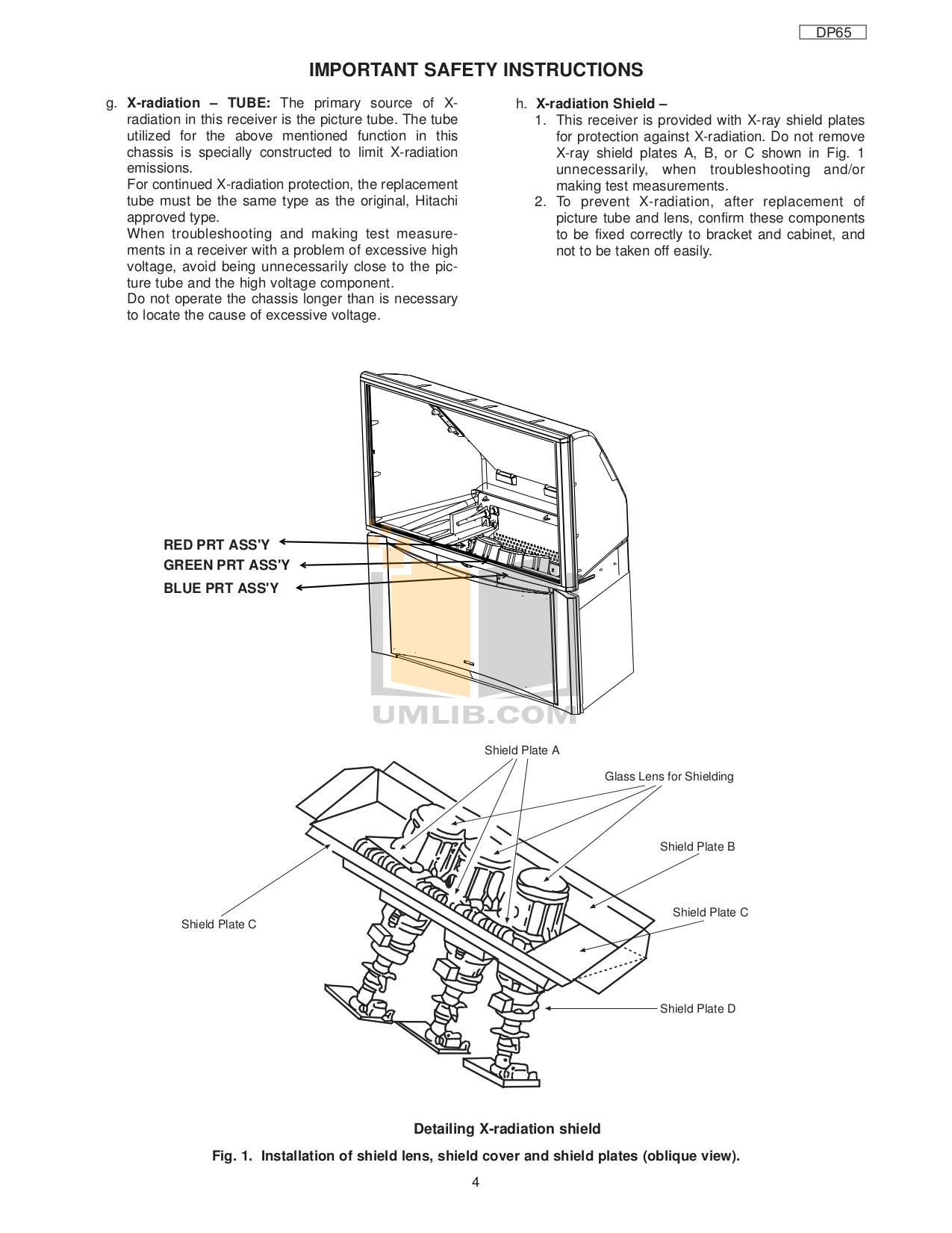 Hitachi 51f59a 51f59 service manual: hitachi: amazon. Com: books.
