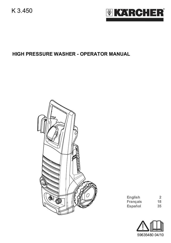 Download Free Pdf For Karcher K 1800 Ib Pressure Washers