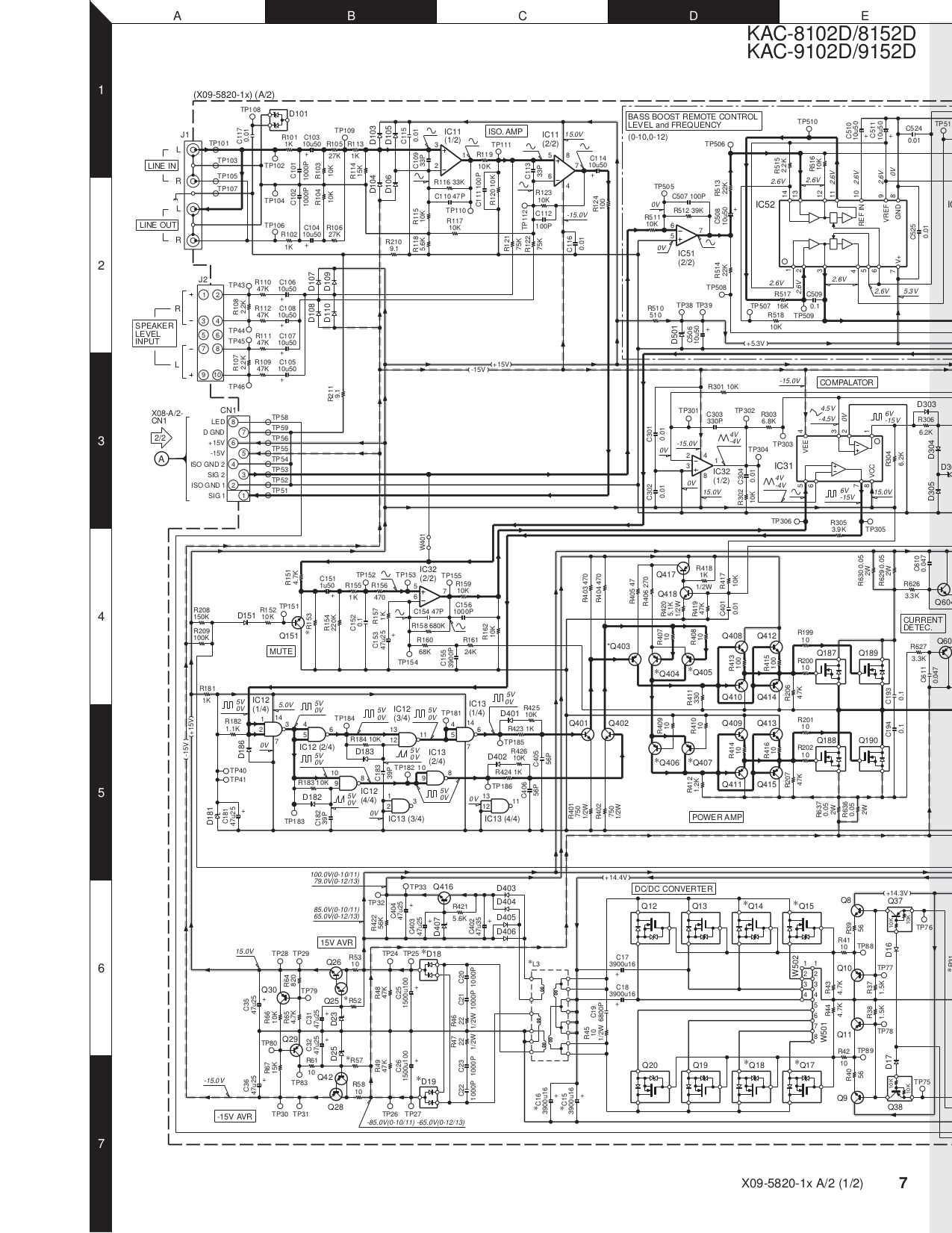 Kenwood kac d wiring diagram