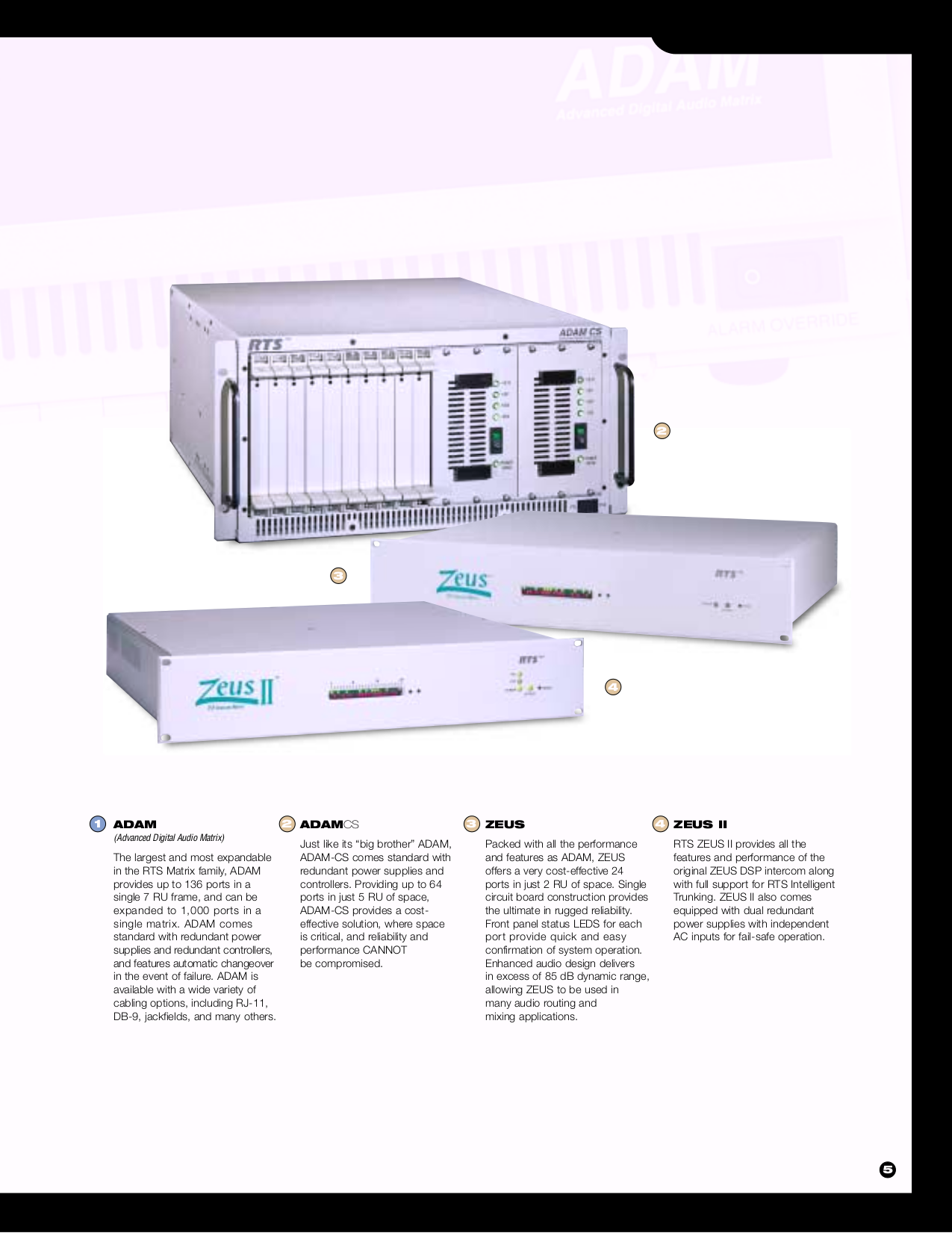 Telex Other EKP-632 Console Mount User Station pdf page preview