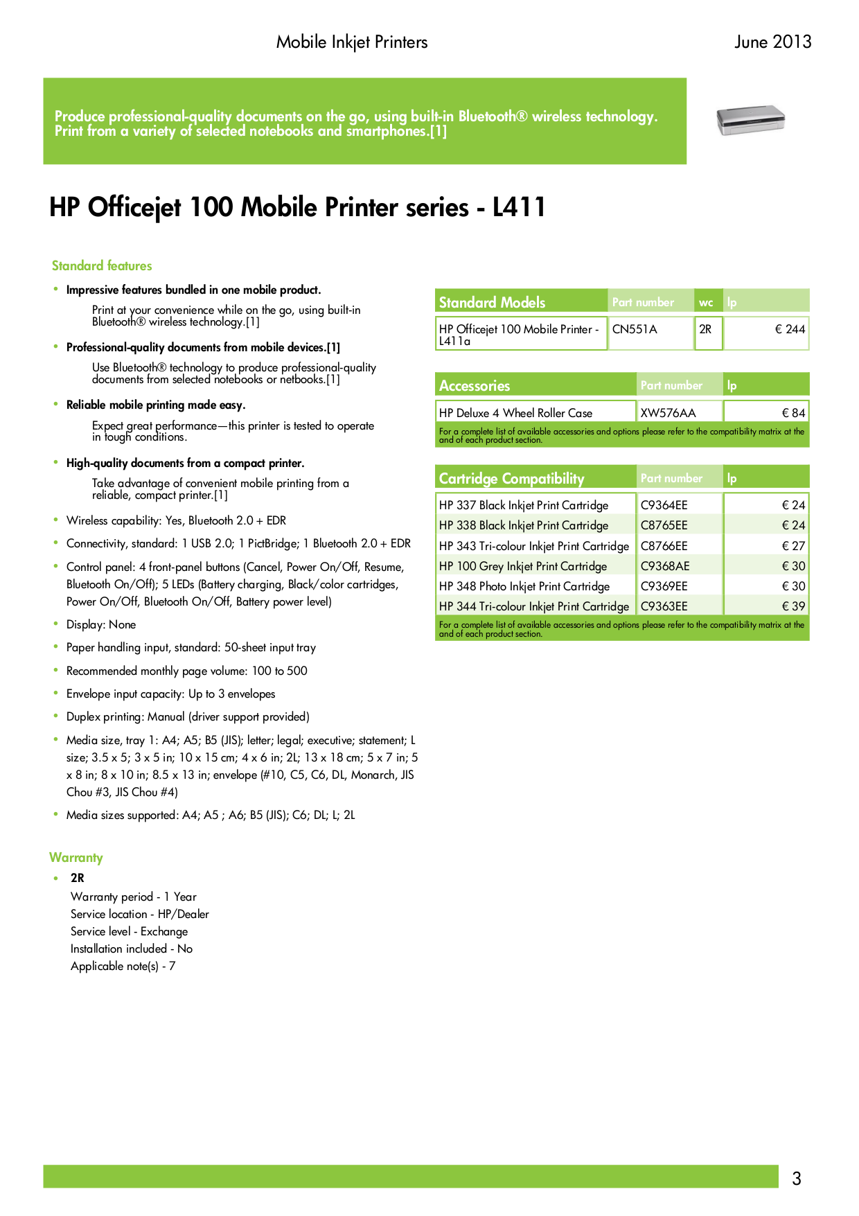 HP Multifunction Printer Officejet 5510 pdf page preview