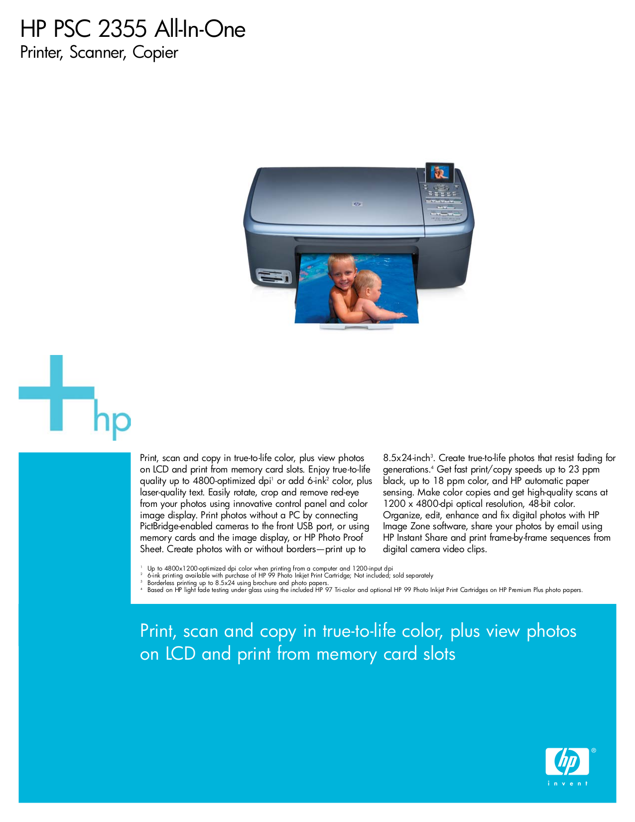 pdf for HP Multifunction Printer PSC 700 manual