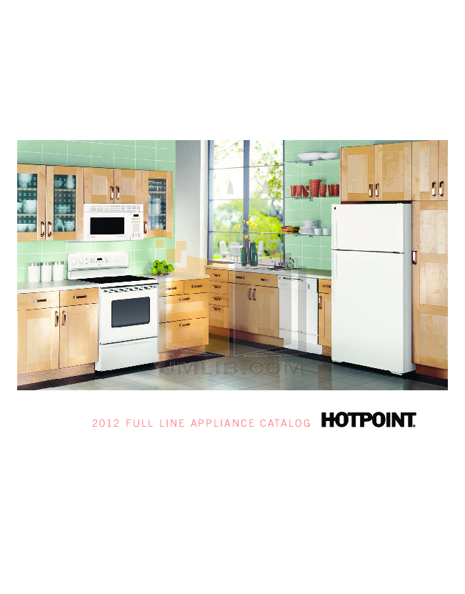 pdf for Hotpoint Range RA724K manual