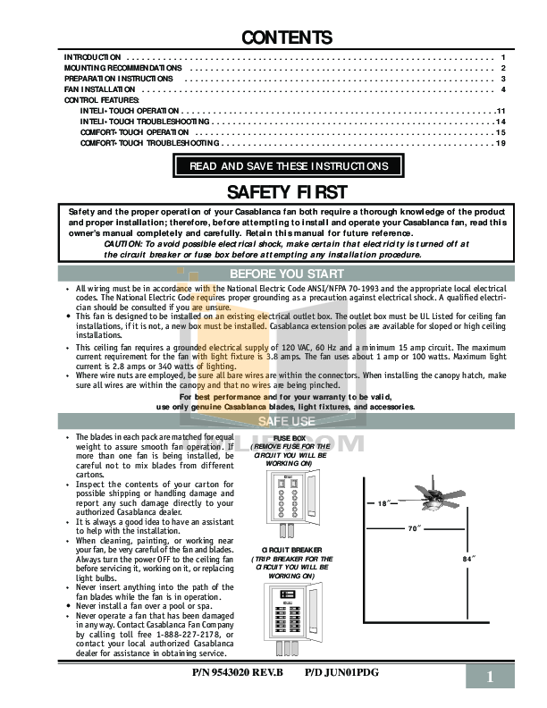 casablanca ceiling fan manual pdf manual for casablanca