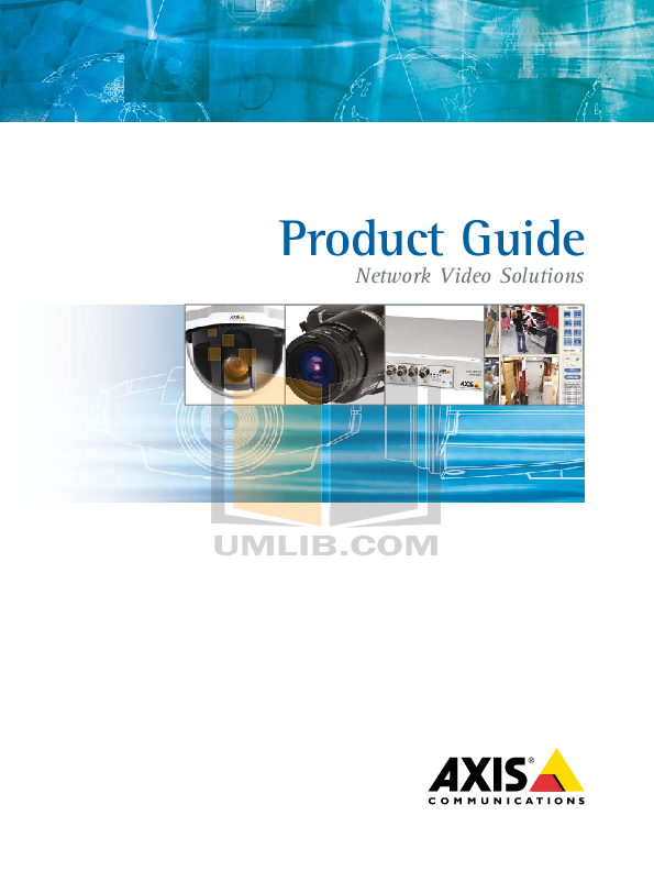 pdf for Axis Security Camera 214 PTZ manual