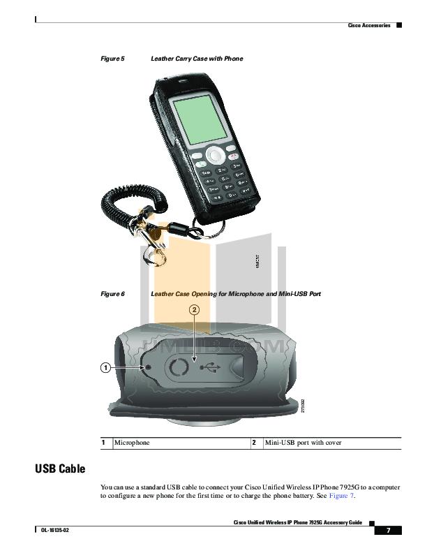 PDF manual for Cisco Telephone CP-7925G
