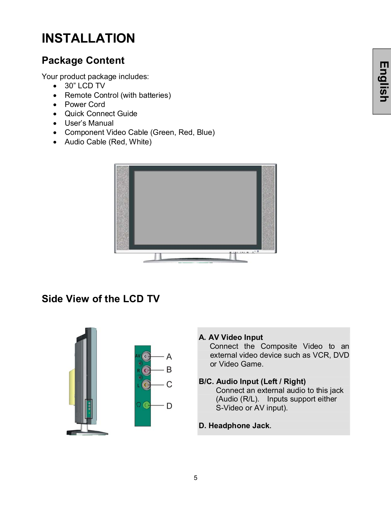 Westinghouse Tv Manual