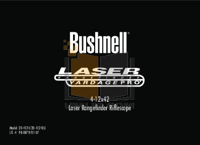 pdf for Bushnell Other Yardage Pro 20-4124 Laser RangeFinder manual
