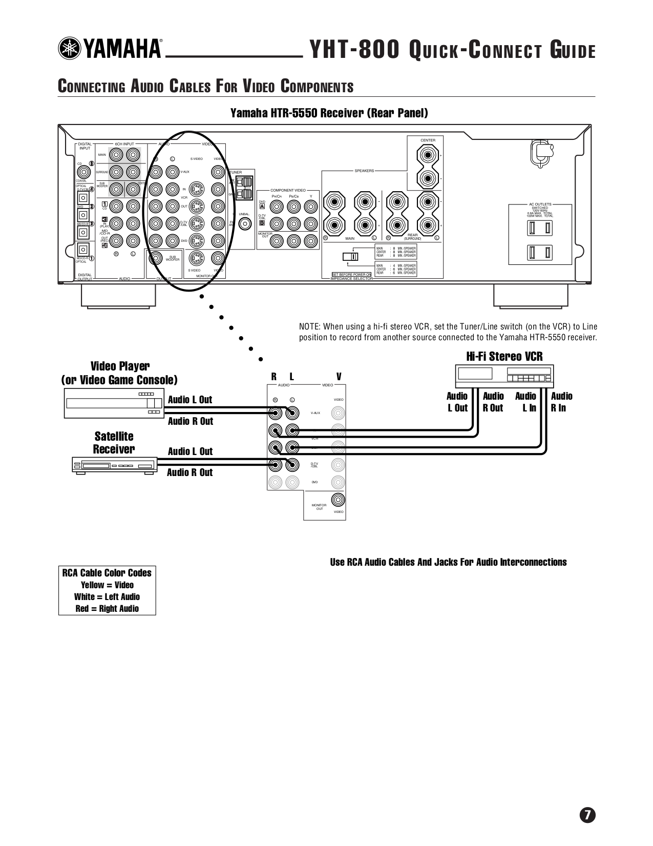 Yamaha Subwoofer YST-SW105 pdf page preview