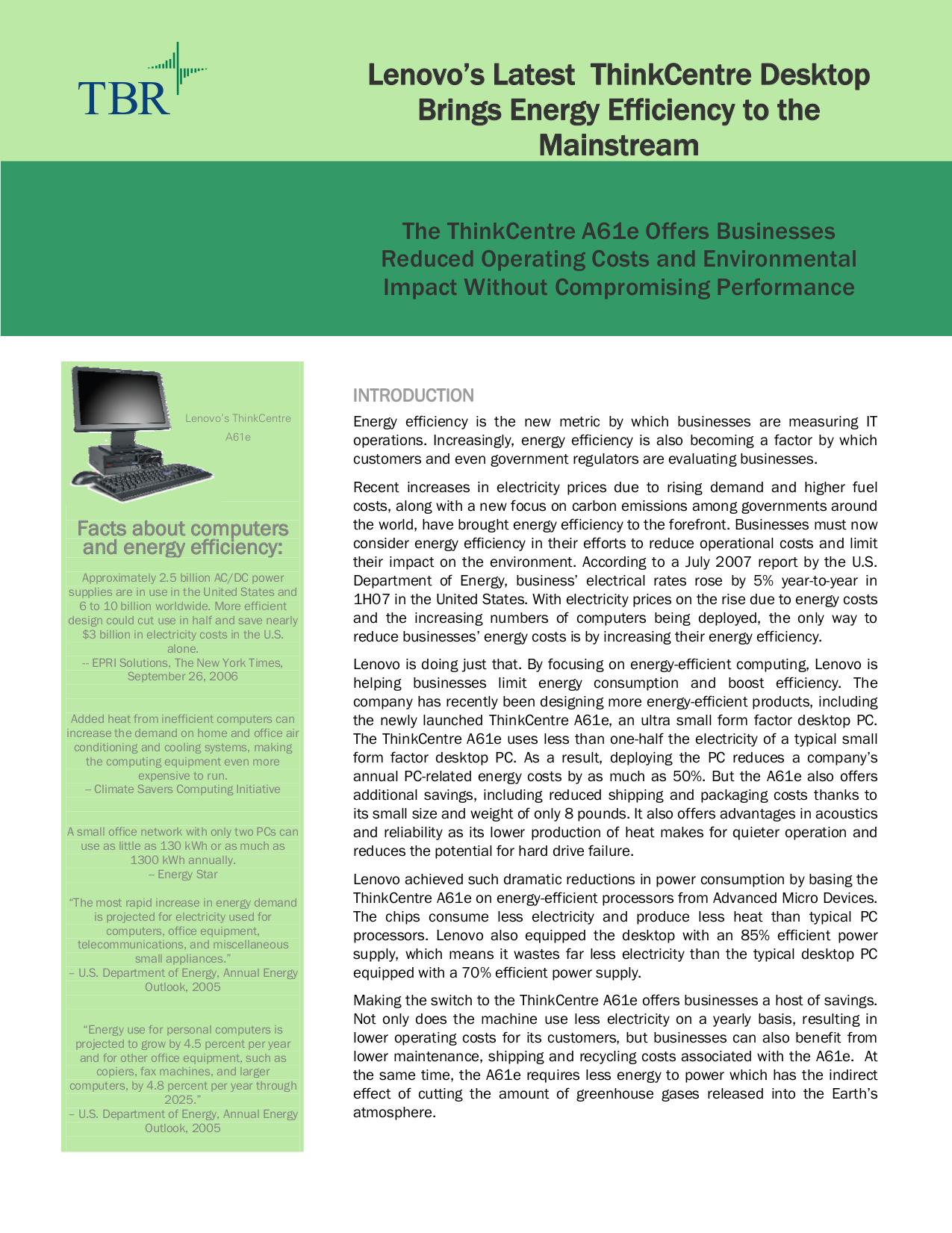 pdf for Lenovo Desktop ThinkCentre A61 9189 manual
