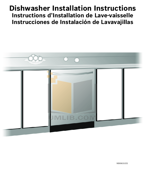 bosch dishwasher instructions free download