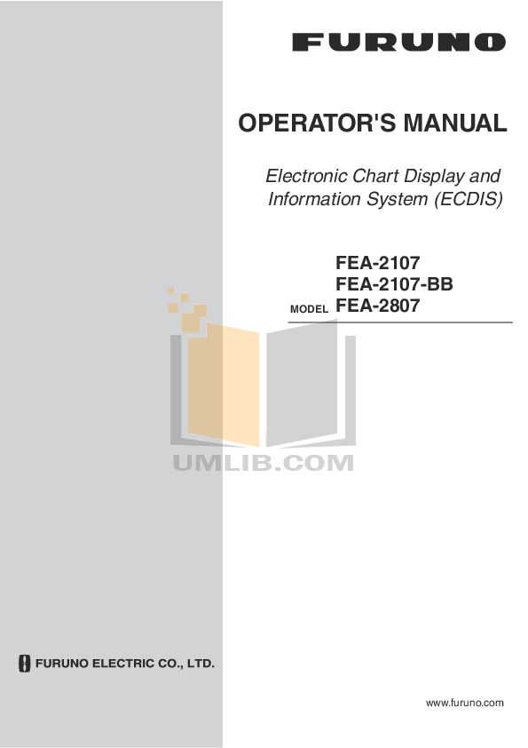 pdf for Furuno Other FAX-214 Fax Receiver manual