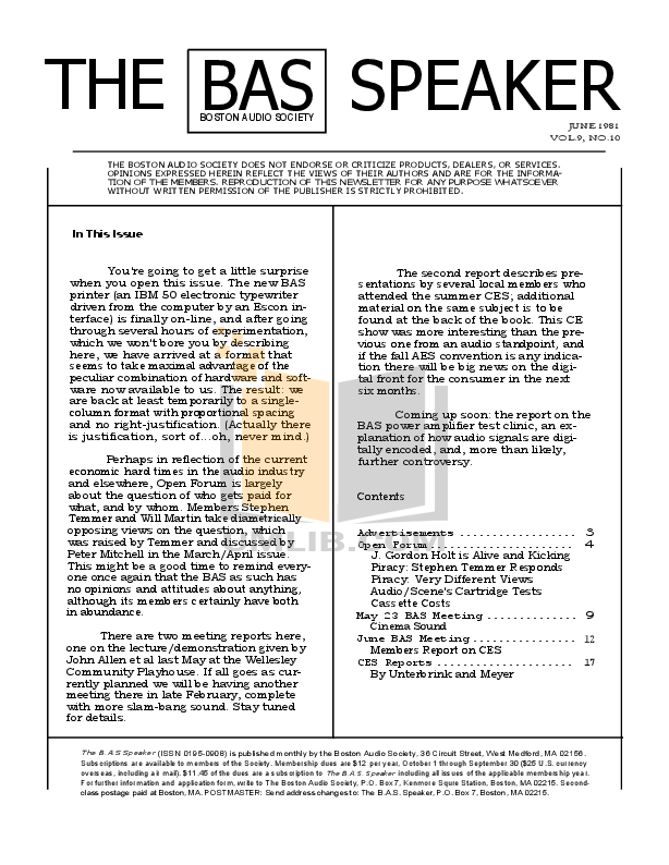 pdf for Dcm Speaker System CX-27 manual