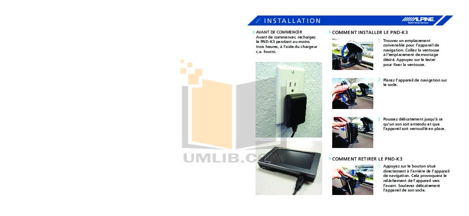 pdf manual for alpine gps pnd k3 rh umlib com