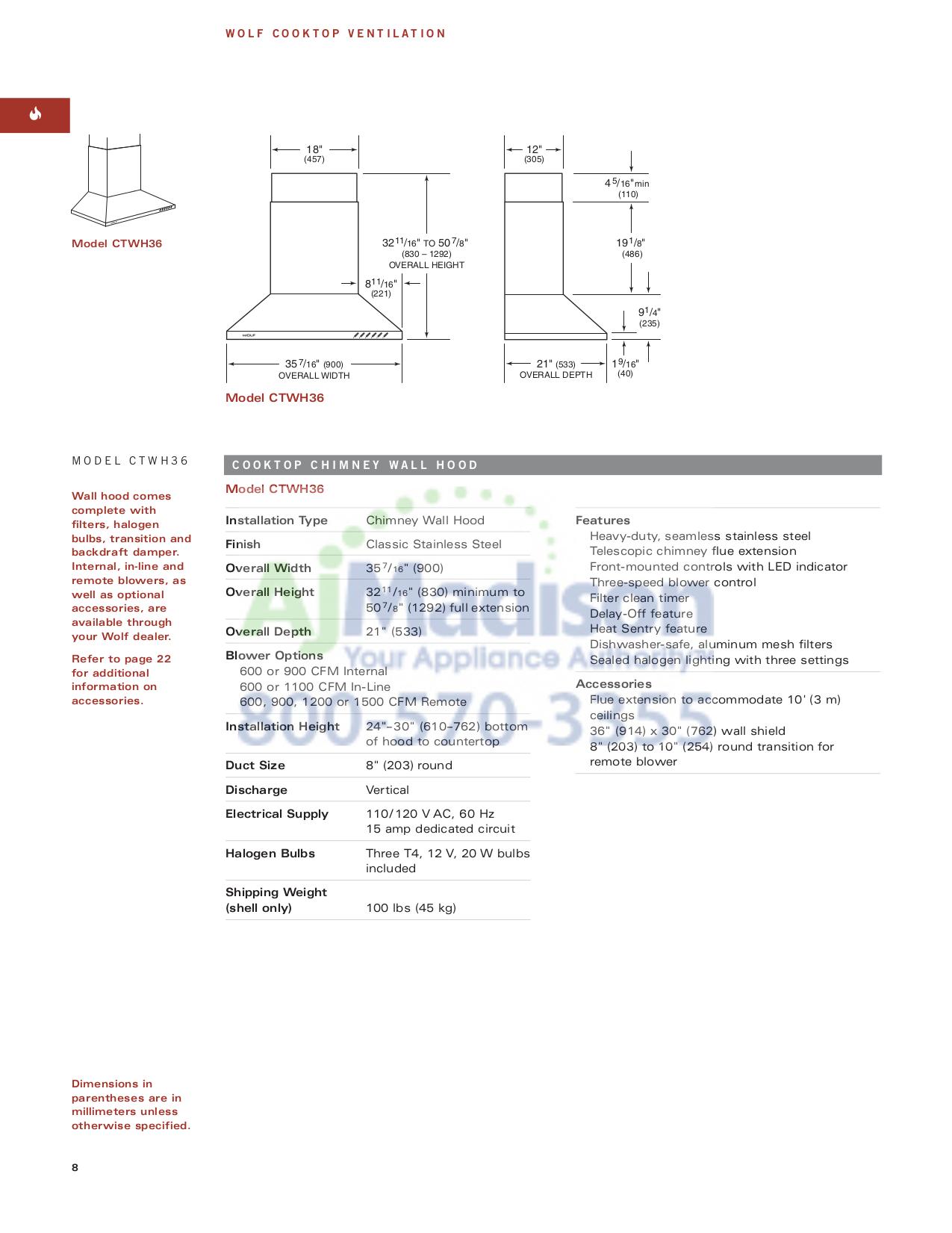 PDF manual for Wolf Range RT486G on