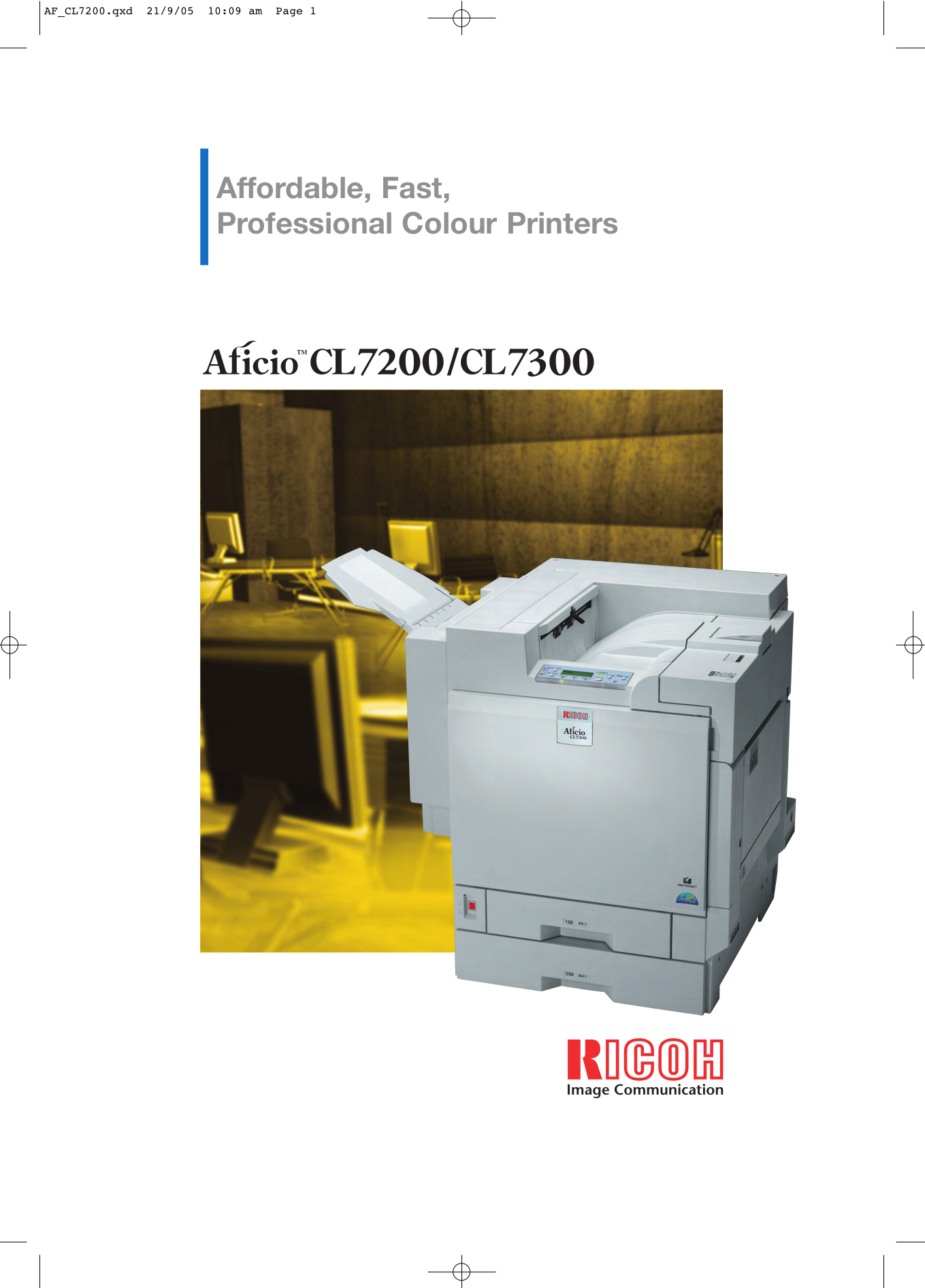 pdf for Ricoh Scanner IS100 manual