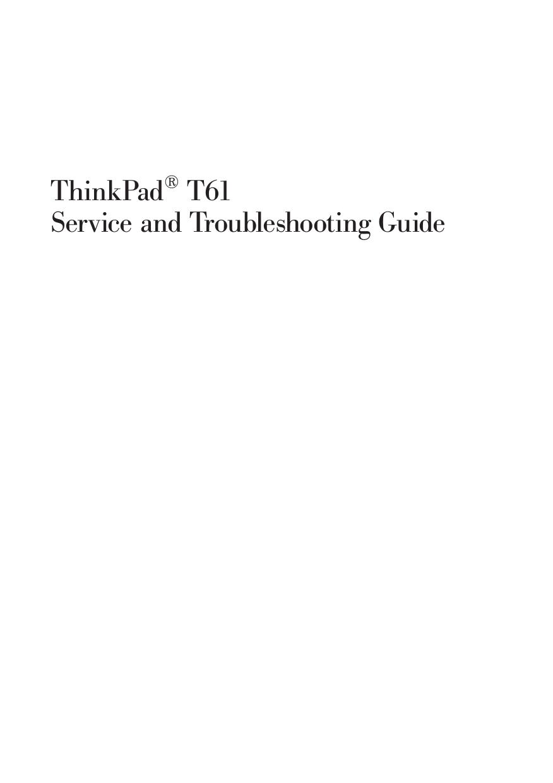 download free pdf for lenovo thinkpad t61 7659 laptop manual rh umlib com lenovo t61 manual pdf lenovo t61 manual pdf