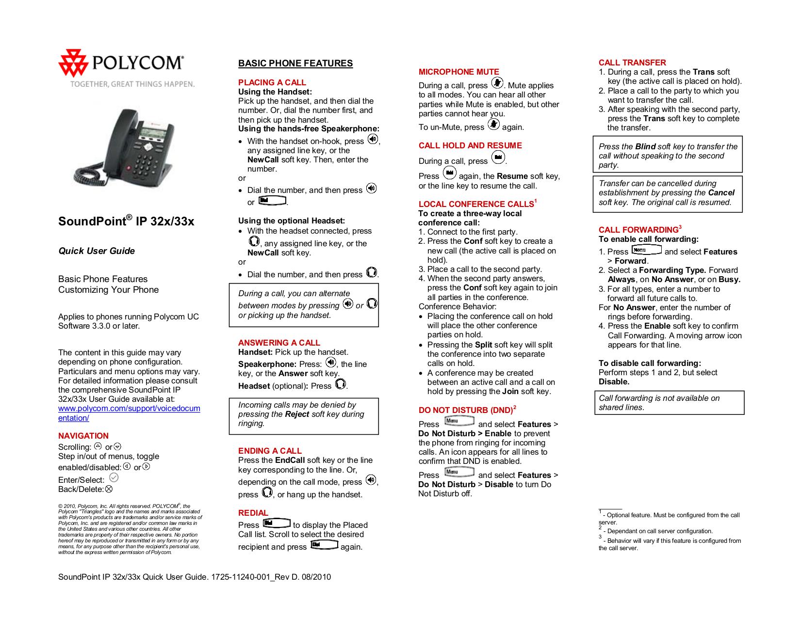 pdf manual for polycom telephone soundpoint ip 331 rh umlib com polycom ip 331 quick user guide Polycom ViewStation Manual