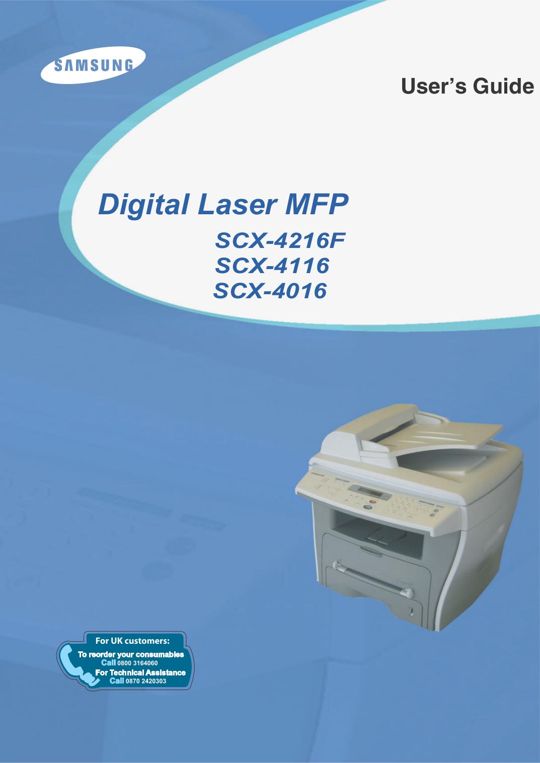 samsung scx 4623fw manual pdf