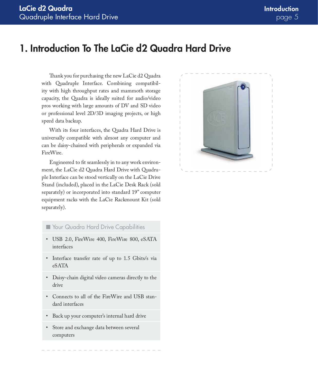 LaCie Storage 301908 pdf page preview