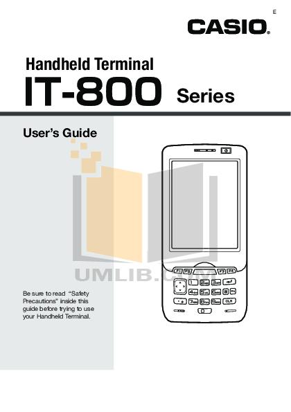 pdf for Franklin PDA IC-132 manual