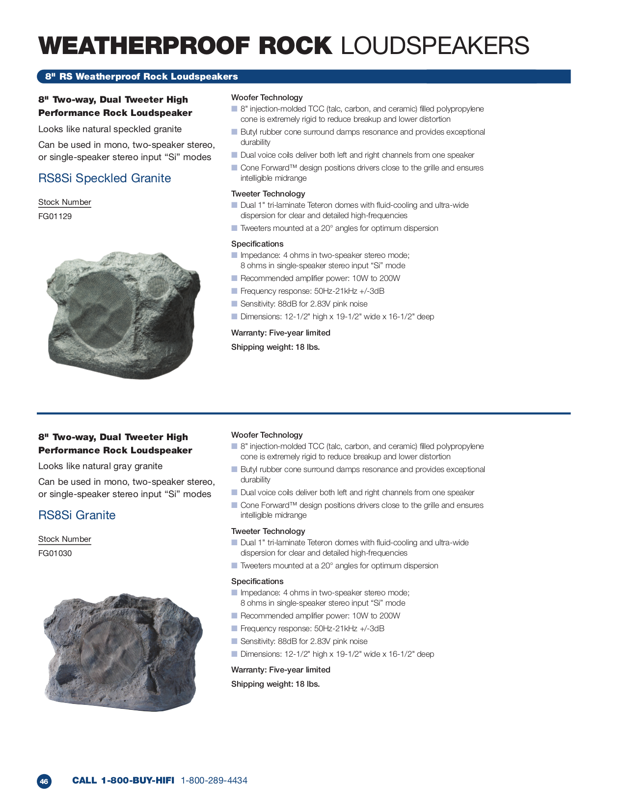pdf for Niles Speaker RS6 Speckled Granite manual
