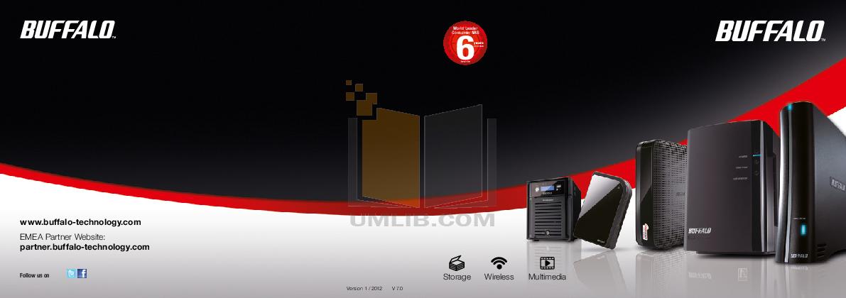 pdf for Buffalo Storage HD-PXT1TU2 manual