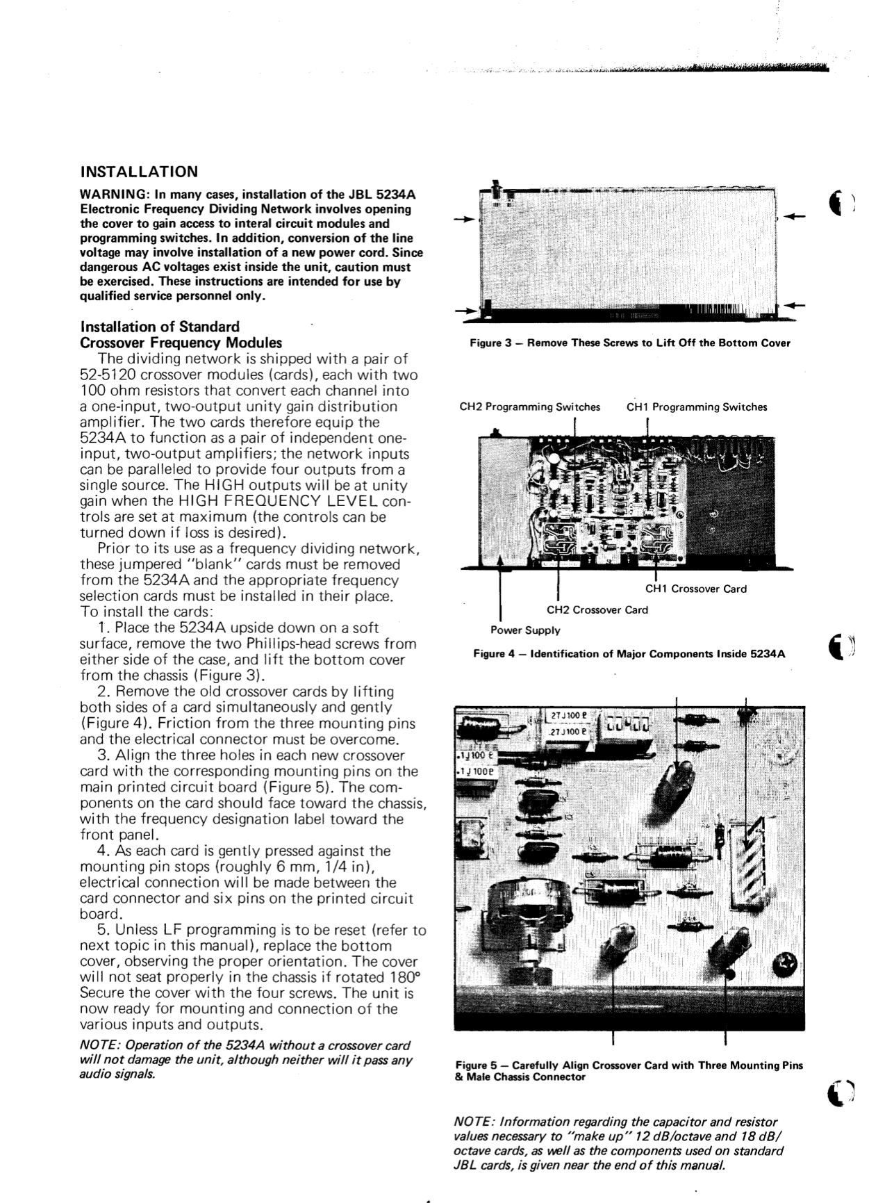 Jbl Crossover Wiring Diagram Page 4 And Schematics Circuit Additionally 3 Way Speaker Funky Ilration Electrical 5234a 20manual