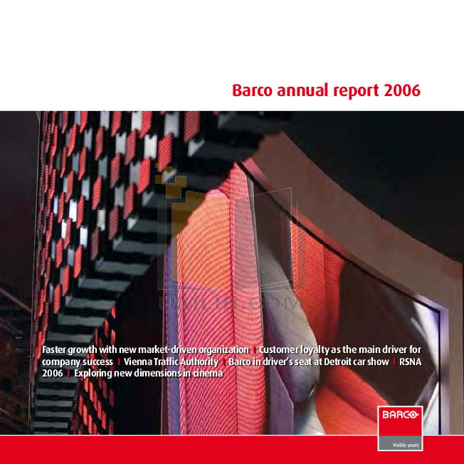 pdf for Barco Monitor LCS-47 manual