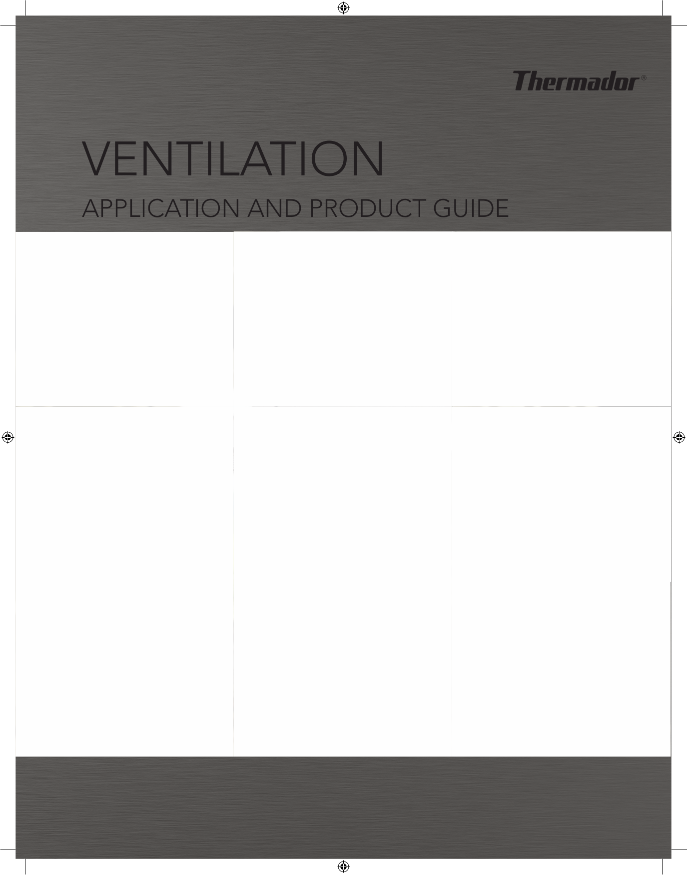 pdf for Thermador Other VTI610D Ventilation Systems manual