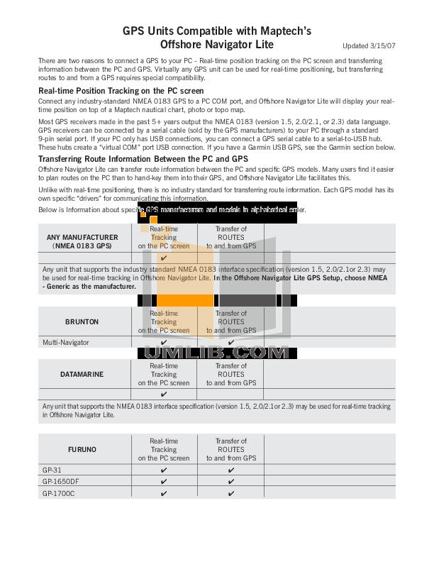 Download free pdf for Garmin GPSMAP 492 GPS manual on