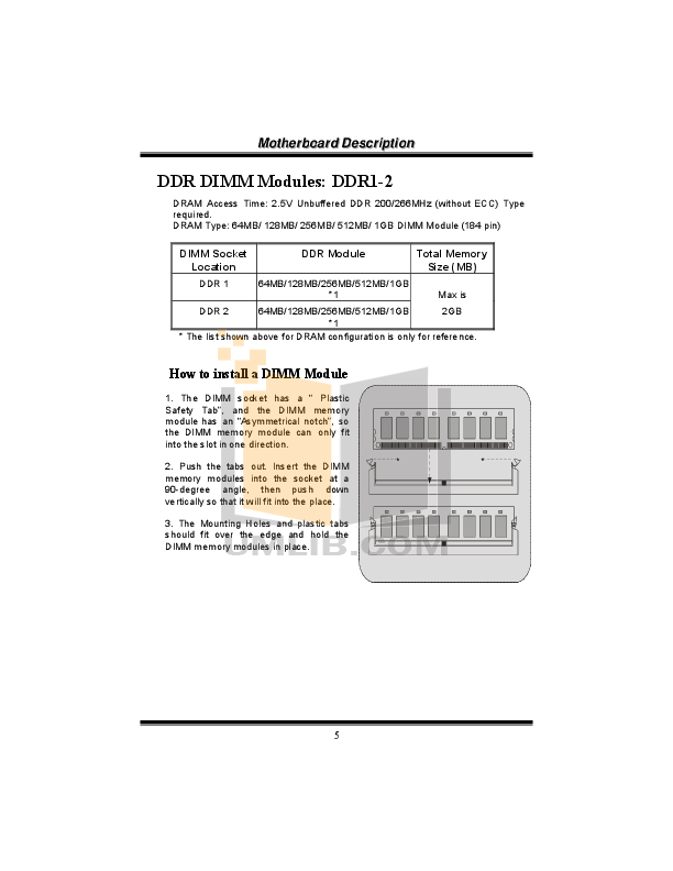 Biostar Other M7VIGD Motherboard pdf page preview