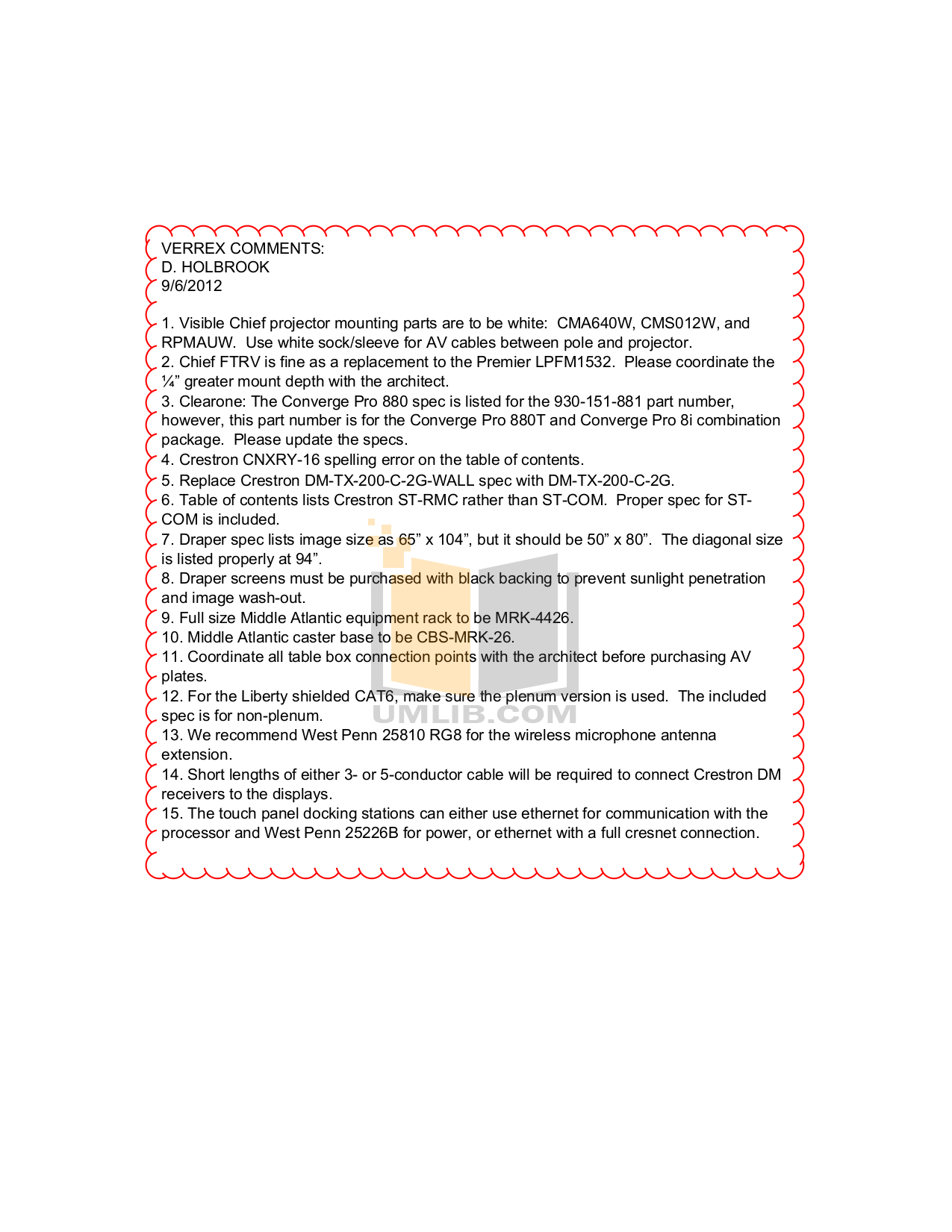 ClearOne Telephone Converge Pro 880 pdf page preview