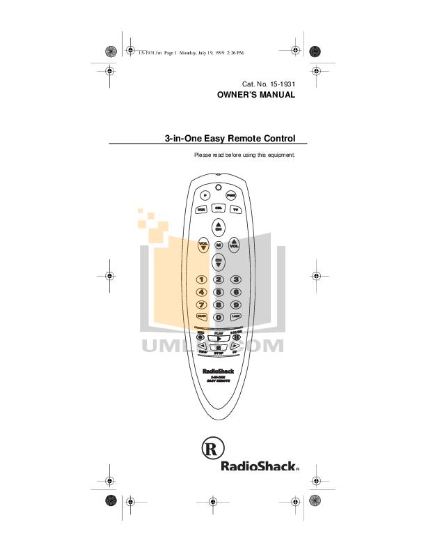 pdf for Audiovox Car Receiver GC-600 manual