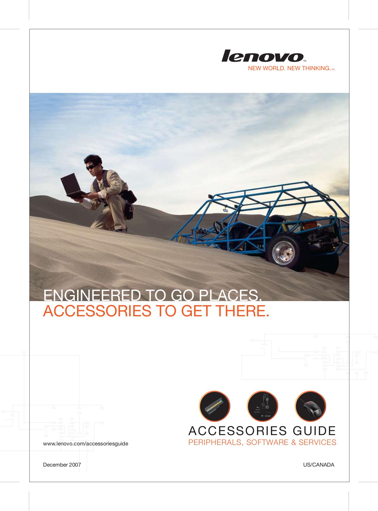 pdf for Lenovo Desktop ThinkCentre A60 8986 manual