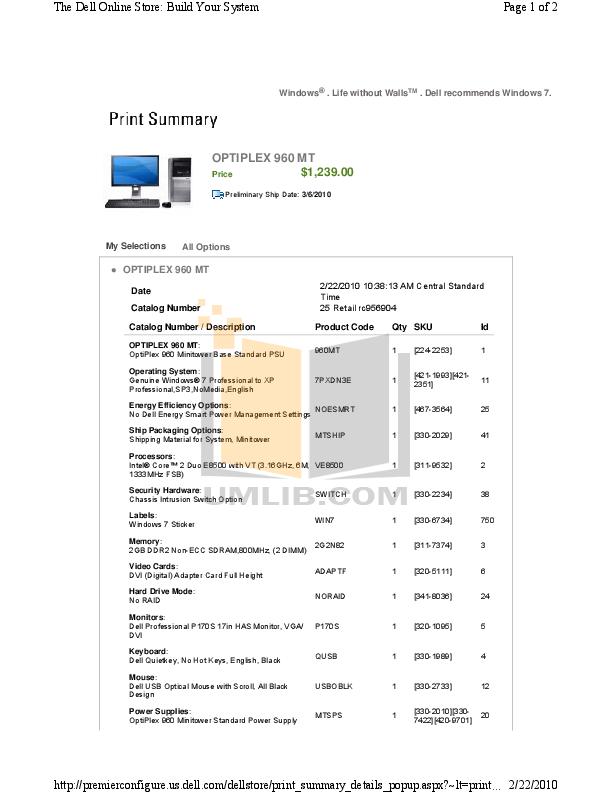 download free pdf for dell optiplex 960 desktop manual rh umlib com dell optiplex 960 motherboard manual dell optiplex 960 sff manual