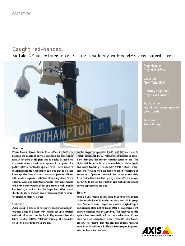 pdf for Axis Security Camera 233D manual