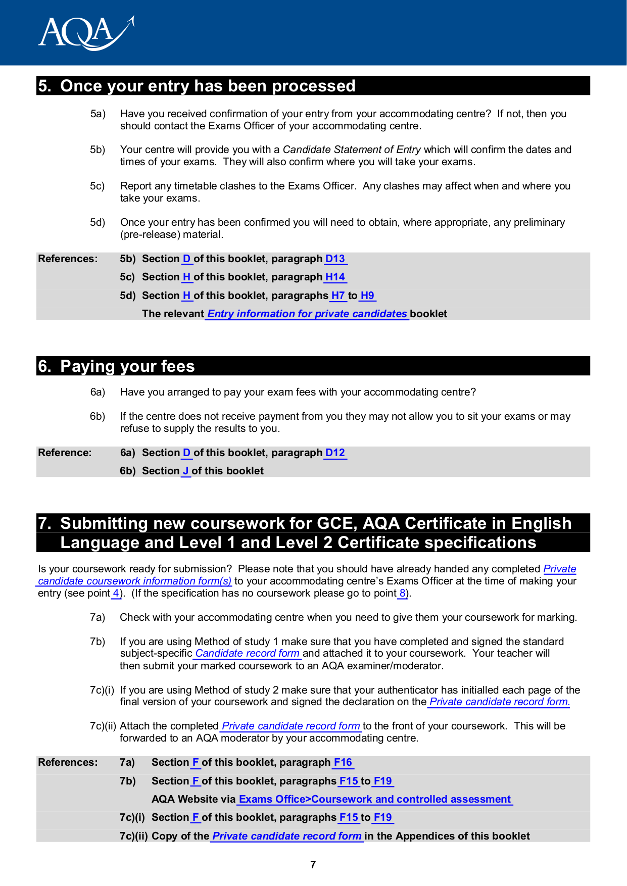 aqa coursework submission forms We all know that science coursework can be all that you have to do is enter your information on what you need to have done through the order submission form.
