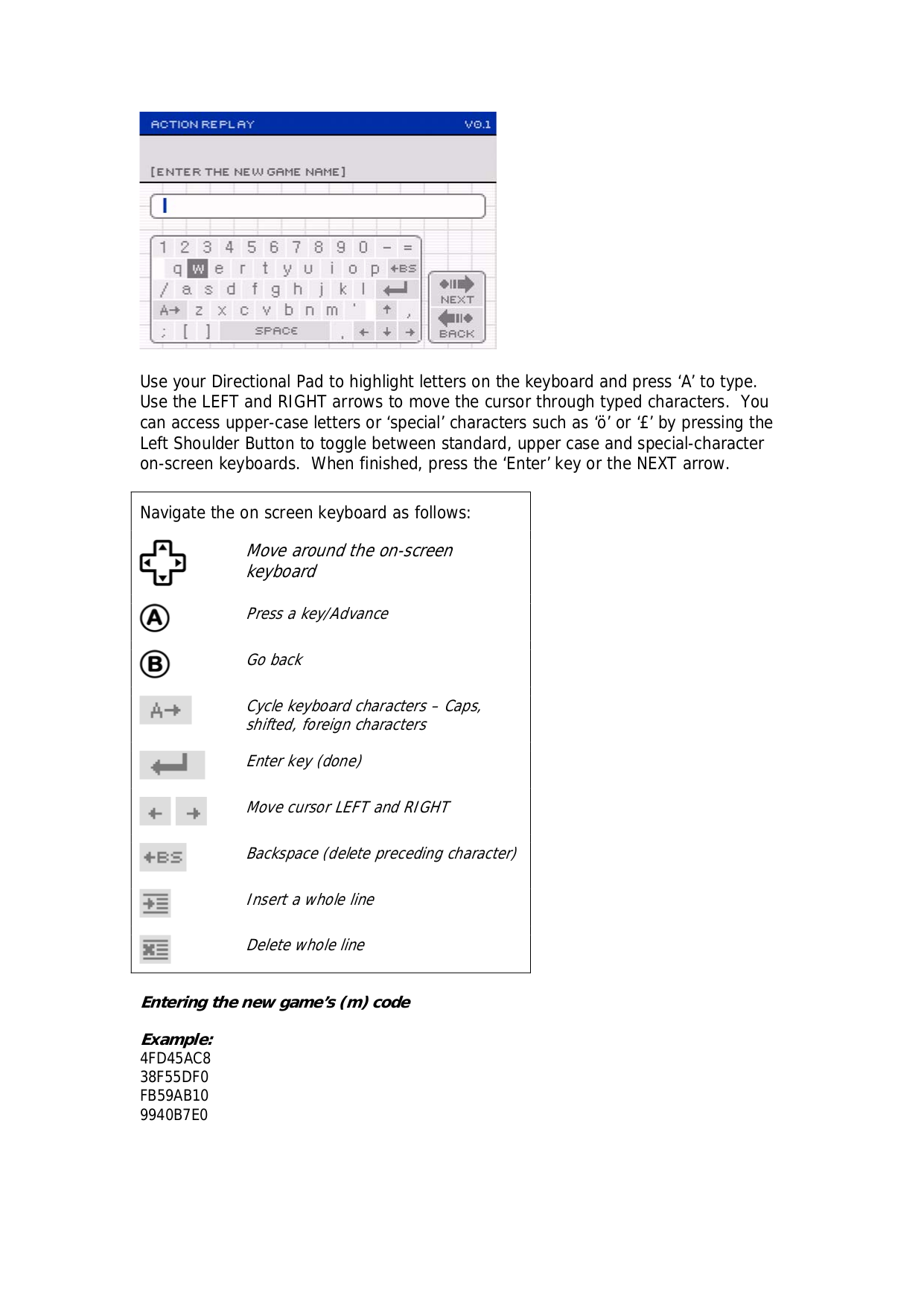 Nintendo Game Console Game Boy Link Cable pdf page preview