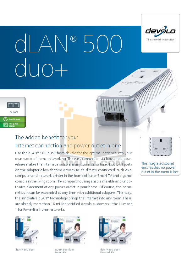 pdf for Devolo Other dLAN Duo Access Point manual
