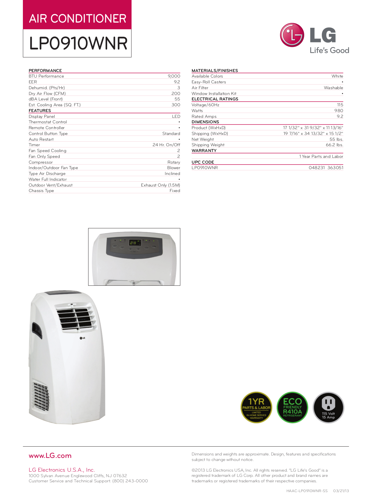 lg model lp0910wnr manual daily instruction manual guides u2022 rh testingwordpress co LG Portable Air Conditioner Manual Flashing FL LG Portable Air Conditioner Manual