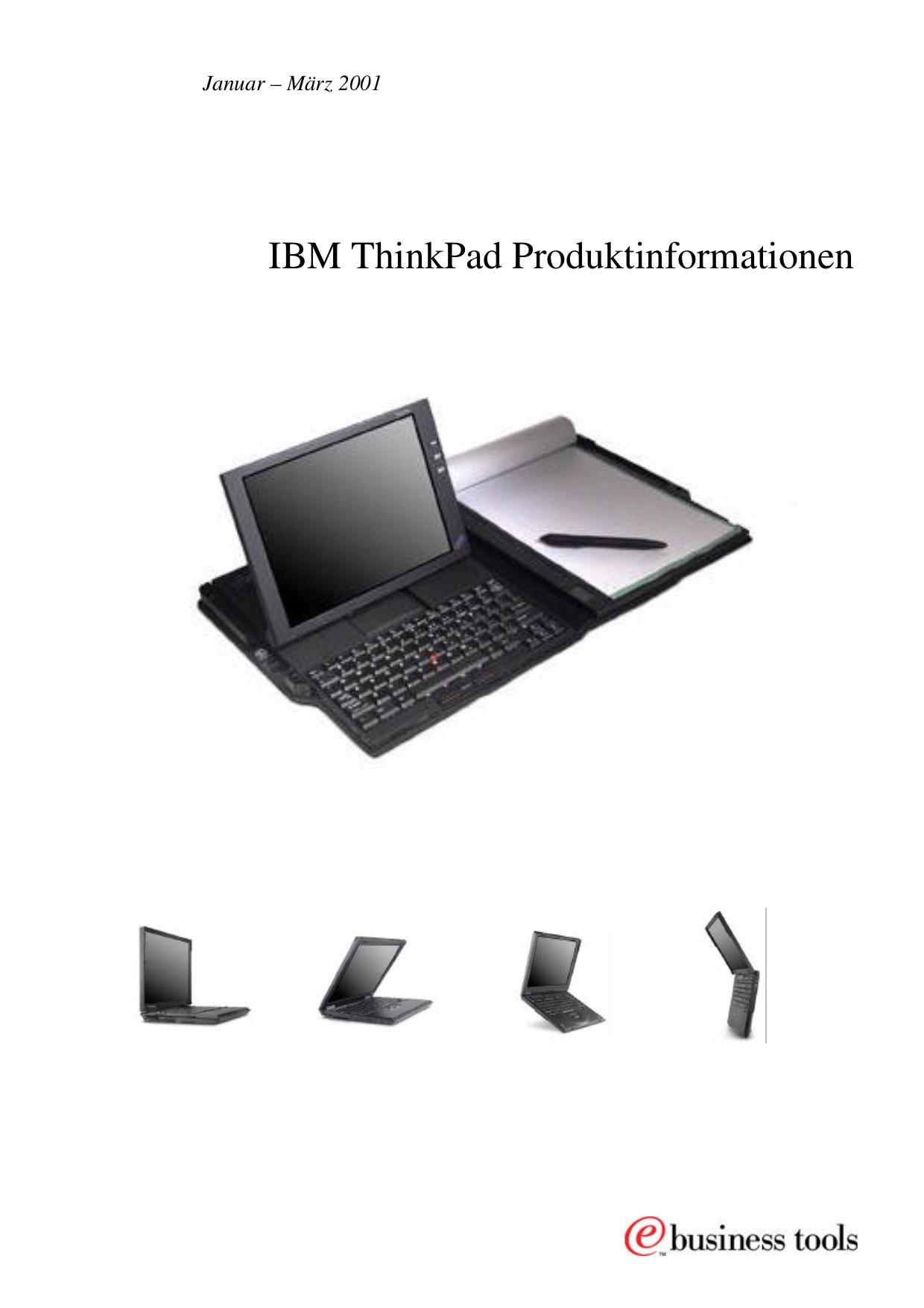 pdf for IBM Laptop ThinkPad A20p manual