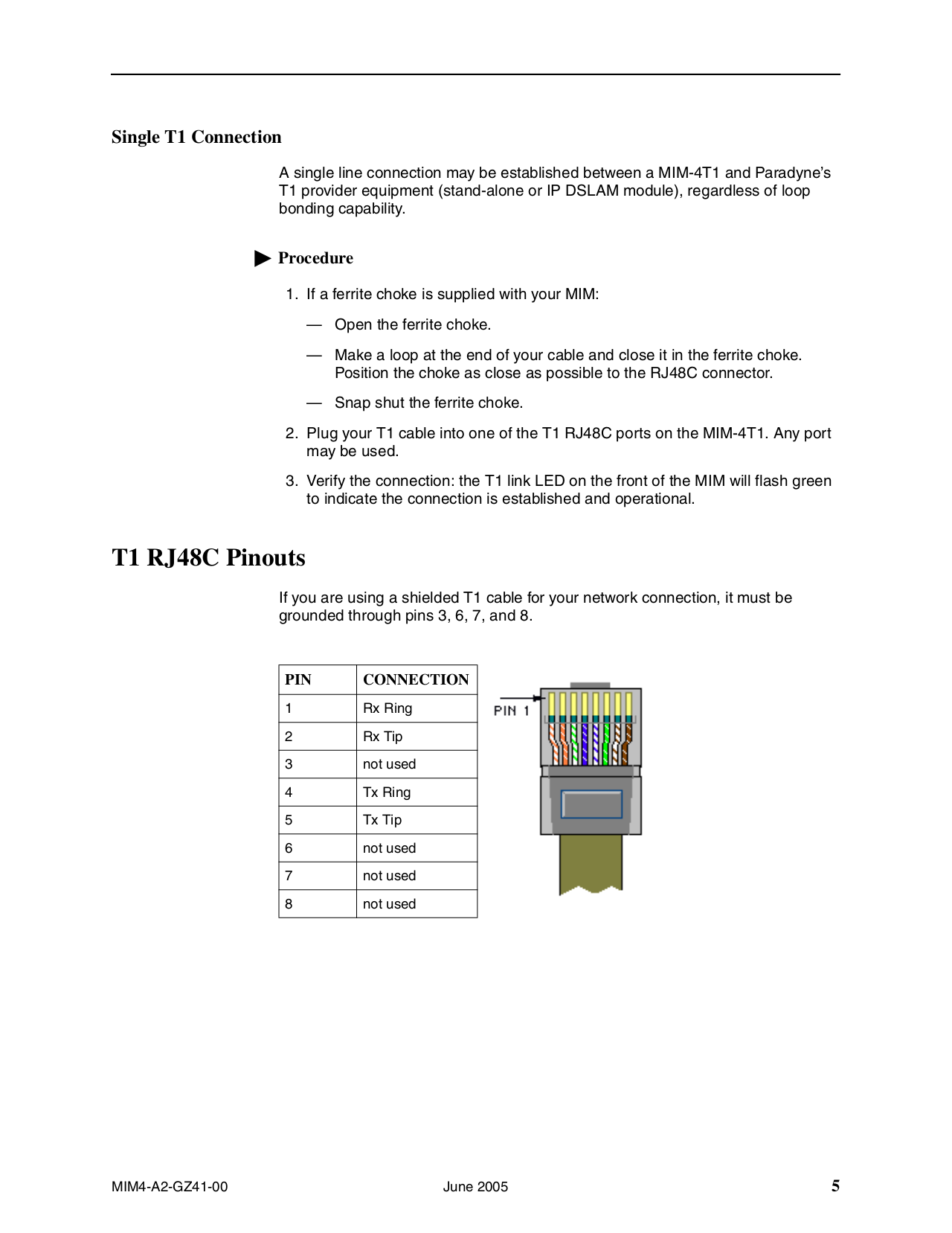 Zhone Switch BSX8000 pdf page preview