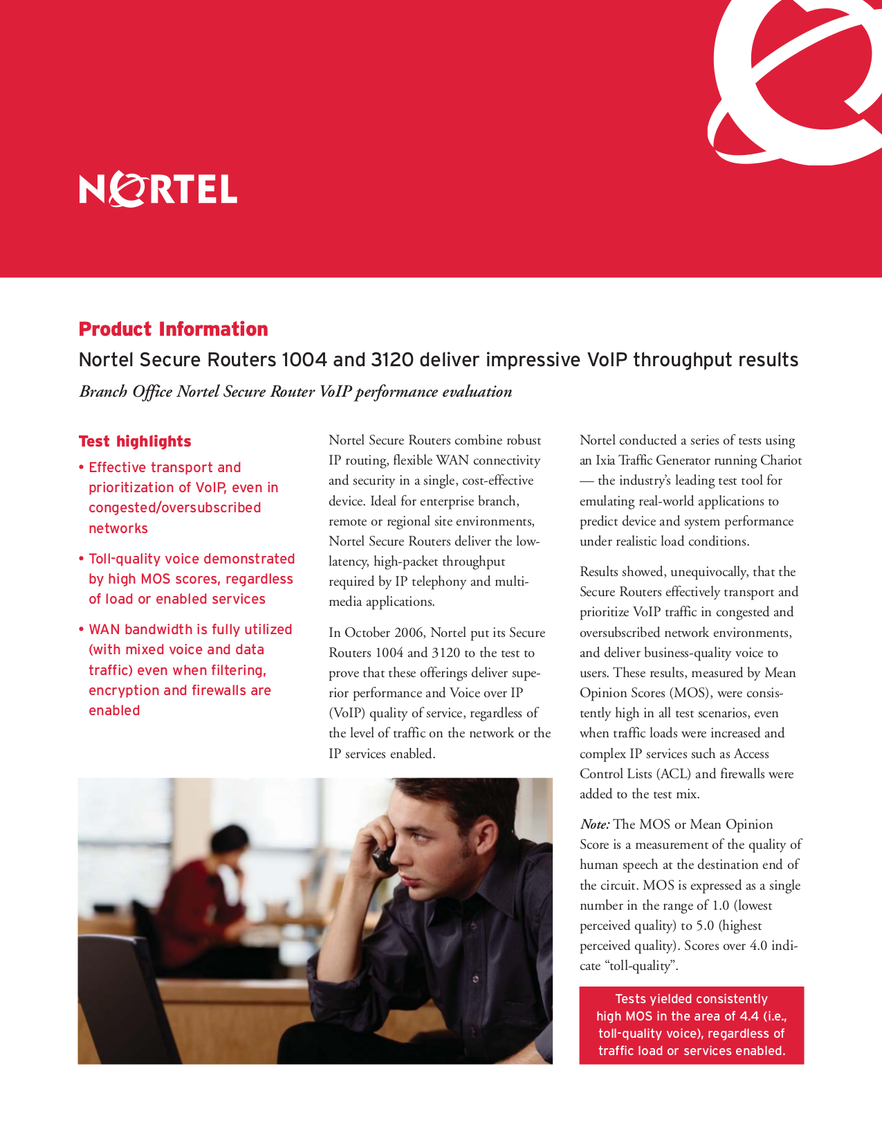 pdf for Nortel Router Secure 1001S manual